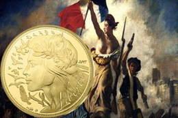 Homenaje a Marianne, la personificación de la República Francesa