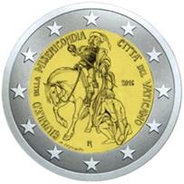Vaticano y San Martín de Tours en 2 euros