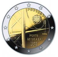"""Portugal y el puente """"25 de abril"""" en 2 euros"""