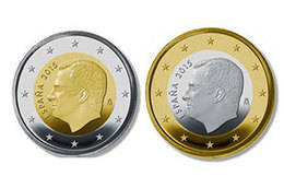 El coste de fabricar un euro con la efigie del rey