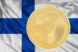 Un original diseño para conmemorar el centenario de la independencia de Finlandia