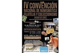 IV Convención Nacional de Numismática, Filatelia y Coleccionismo en Jerez