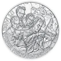 Viena y sus monedas musicales en plata y cobre