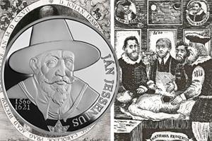450 Aniversario del precursor de la anatomía, Ján Jenessius
