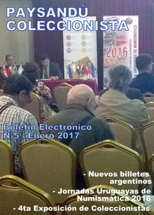 Boletín Electrónico 'Paysandú Coleccionista' número 5