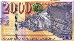 Macedonia presume de su arqueología en los nuevos billetes de 200 y 2.000 dinares