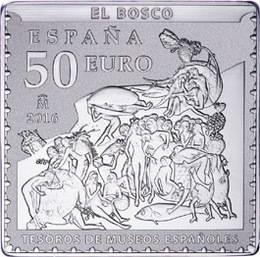 "IV Serie Tesoros de Museos Españoles ""El Bosco"" ¿Sellos o monedas?"