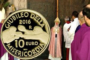 San Marino celebra el Jubileo de la Misericordia con 10 euros en oro