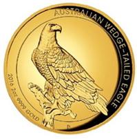 Dos onzas de oro australianas para el Águila audaz