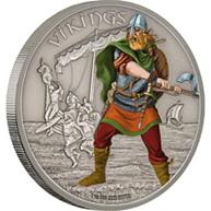 "Vikingos en ""Guerreros de la Historia"" de Niue"