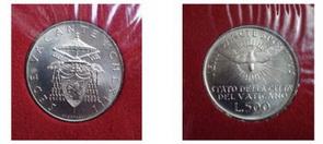 Monedas conmemorativas de Vaticano