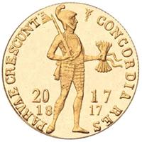 Se cumplen doscientos años del Doble ducado de oro.