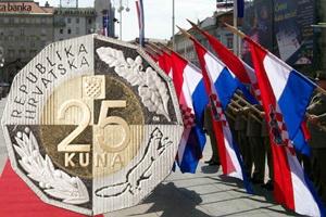 XXV Aniversario de la Independencia de Croacia