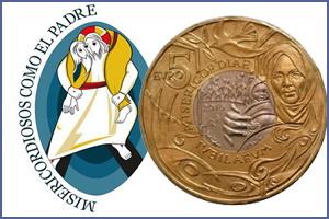 Por primera vez, bimetálica de San Marino: Jubileo de la Misericordia