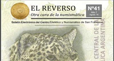 """Boletín Electrónico """"El Reverso"""" número 41, Agosto 2016"""