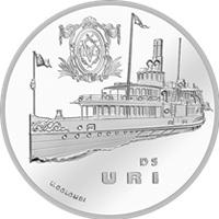 Suiza inaugura una serie de monedas con el barco de vapor de Uri