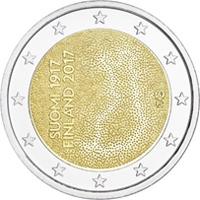 Nueva moneda de 2€ que conmemora la independencia de Finlandia