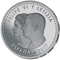 Moneda de 30€ de la FNMT