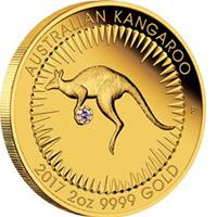 Australia saca una moneda con un diamante incrustado