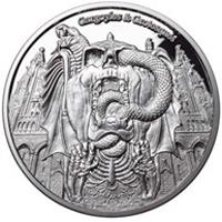 Nueva serie de monedas de plata: Gargoyles & Grotesques