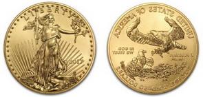 Moneda de Oro American Eagle 2017 1 OZ