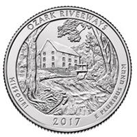 Missouri en la nueva moneda conmemorativa de EEUU
