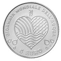 """San Marino emite una moneda del """"Día Mundial del Agua"""""""
