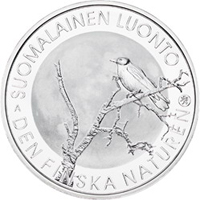 Finlandia emite una moneda conmemorativa dedicada a la Naturaleza