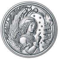 Nueva moneda de la serie Ángeles de la Guarda y Mensajeros Celestiales