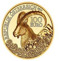 El Ibex alpino protagonista de la nueva moneda de oro austriaca