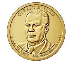 Dólar presidencial para Gerald R. Ford