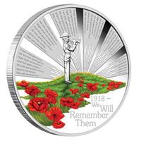 Una moneda de plata homenajea al ANZAC