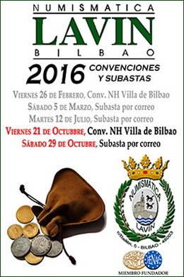 Numismática Lavín: 61 Convención y Feria del Coleccionismo