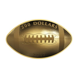 """Touchdown"" para la Royal Canadian Mint en 2017"