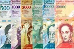 Venezuela lanza seis nuevos billetes con mayores denominaciones para combatir la inflación