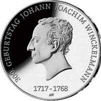 Winckelmman protagoniza la nueva moneda de coleccionista alemana