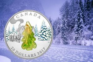 Canadá celebra la Navidad con un abeto de cristal de Murano