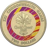 Nuevas monedas para los XXI Juegos de la Commonwealth