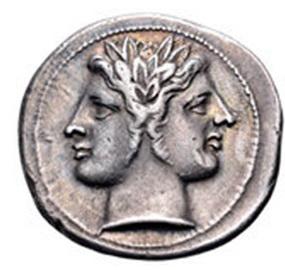 Quadrigatus, las didracmas romanas