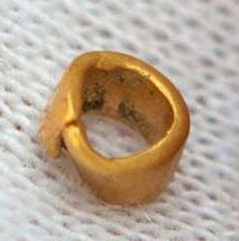 Descubren en Bulgaria el objeto de oro más antiguo del mundo