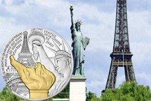 """La Estatua de la Libertad, uno de los """"Tesoros de París"""""""