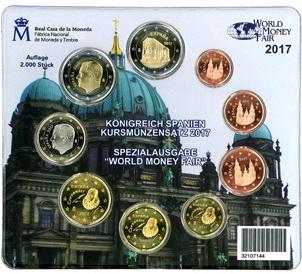 Euroset para la World Money Fair Berlín 2017