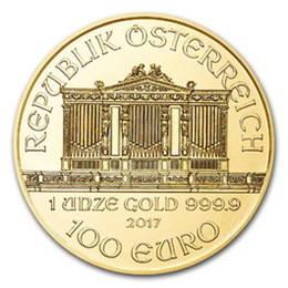 Münze Österreich y la emisión de 2017 de su Filarmónica de oro