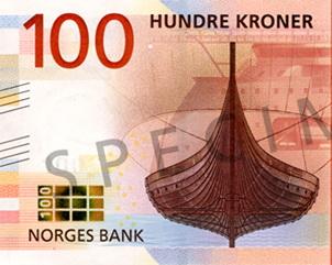 La historia marítima de Noruega, en sus nuevos billetes