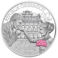 Baile de la Ópera de Viena, encuentro de color de rosa