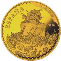 El Bosco, entre moneda y sello