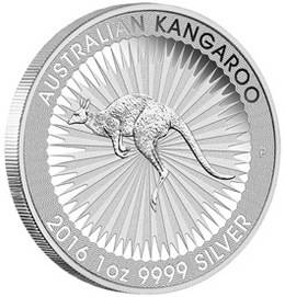 El Canguro australiano de plata 2016