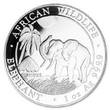 Ya está a la venta el Elefante de Plata 2017 de la República de Somalia