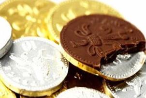 Novedad numismática: la Royal Mint acuñará monedas… de chocolate