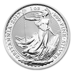 La Royal Mint celebra en 2017 el 20 aniversario de la Britannia de Plata